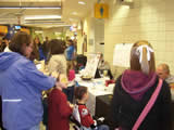Child ID Clinic at the Quicken Loans Arena on November 29, 2008 during the Lake Erie Monsters' hockey game
